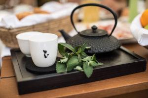 Lassen Sie im Sky Spa bei einer Tasse Tee die Seele baumeln...
