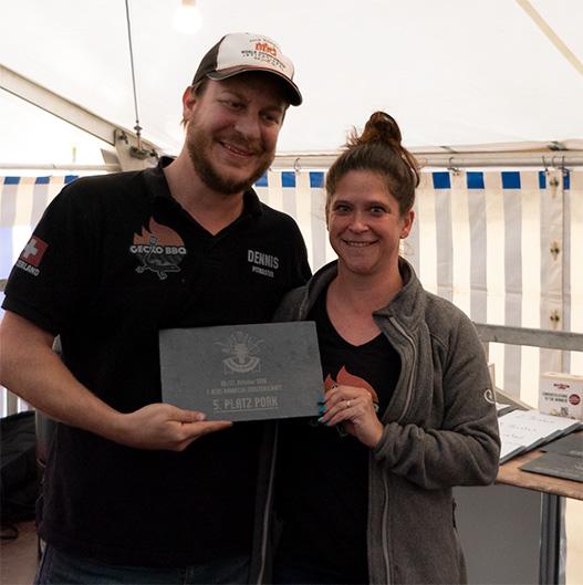 Kategorie Porc, Rang 5: Gecko BBQ aus der Schweiz