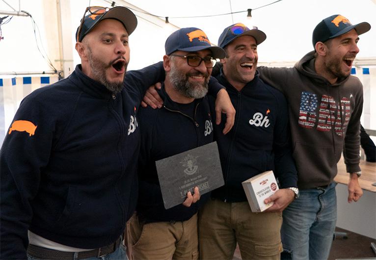 Kategorie Brisket, Rang 1: Bros Hog aus Italien.
