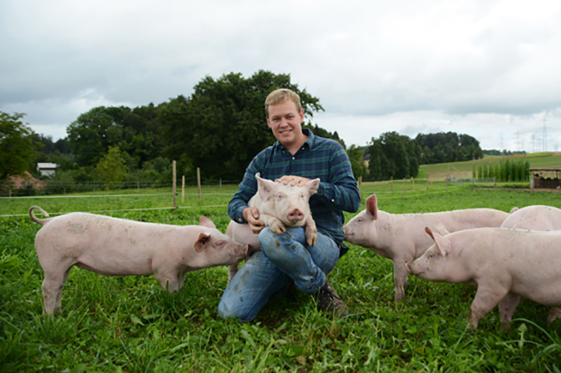 Wird von Slow Food Youth CH unterstützt: das Projekt Mein Schwein.