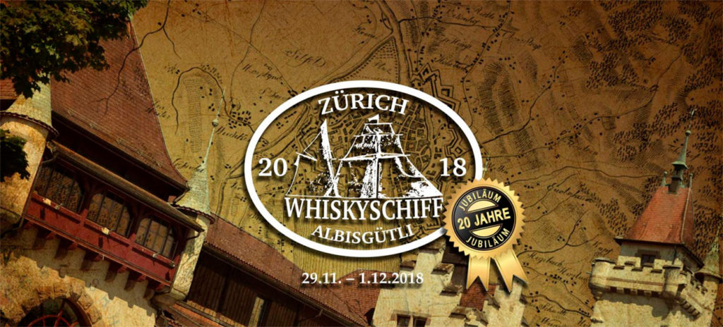 """Das Whiskyschiff Zürich feiert sein 20-jähriges Jubiläum. Auch dieses Mal im """"Trockendock"""" Schützenhaus Albisgütli. 33 Aussteller sind mit von der Partie."""